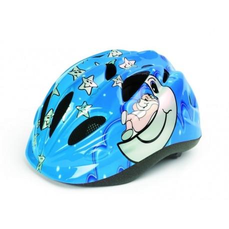 Casco Polisport para niño Kid Sleepy Bear Azul