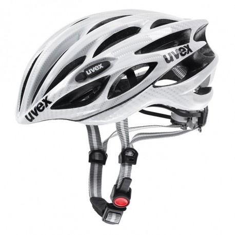 Casco Uvex FP1Blanco carbono