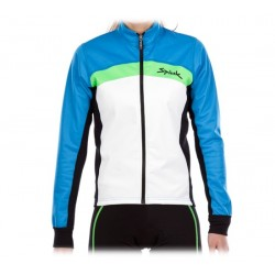 Chaqueta Spiuk Elite Race Woman Jacket 2014 Azul y Blanco