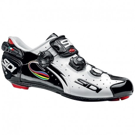 Zapatillas Sidi Wire Carbon Negro/Blanco