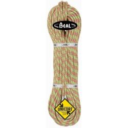 Cuerda Beal Cobra II 8.6 de 50 metros DCVR Unicore amarilla