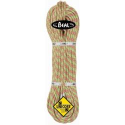 Cuerda Beal Cobra II 8.6 de 50 metros (Golden Dry) GDRY Unicore verde green