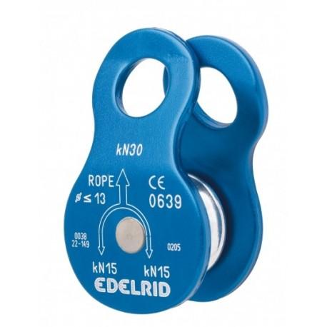 Polea Edelrid Turn 30kN para cuerdas de hasta 13mm