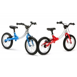 Bicicleta Smart Bikes LittleBig Bike azul y roja