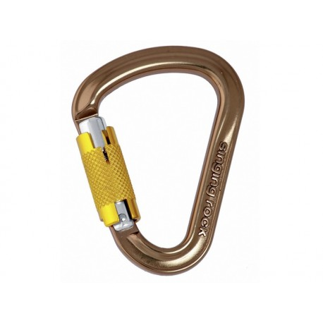 Mosquetón de seguridad Singing Rock Hypnos Twist Lock HMS
