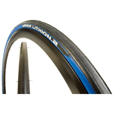 Cubierta Michelin Lithion 700 x 23 azul
