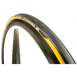 Cubierta Michelin Lithion 700 x 23 amarillo
