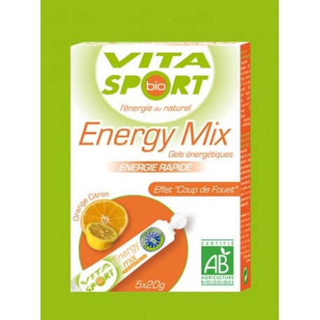 Gel Vita Sport Energy Mix Naranja/Limon