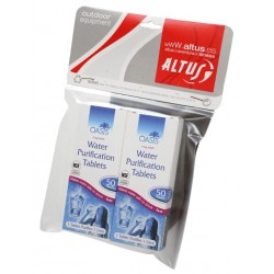 Pastillas para purificar agua Altus pack 2 ud.