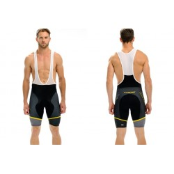 Culotte Look Pro Team Negro/amarillo 2013