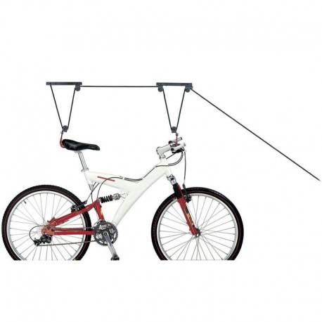 Poleas para colgar la bici