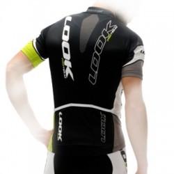 Maillot Look Pro Team Verde/Negro/Blanco