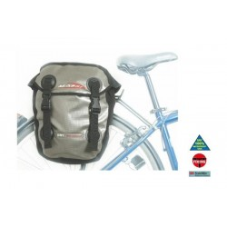 Alforjas traseras Massi CM 227 DOUBLE 100% IMPERMEABLE-GRIS