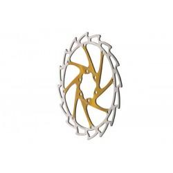 Disco freno Massi 6 tornillos 180mm amarillo