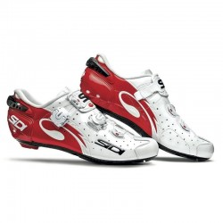 Zapatillas Sidi Wire Carbon Blanco/Rojo