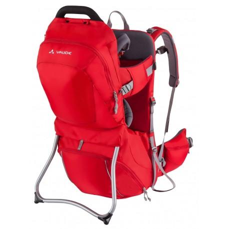 Mochila portabebes Vaude Shuttle Comfort roja