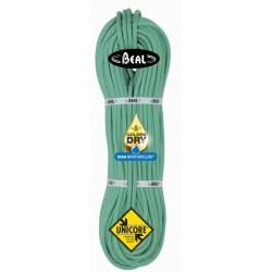 Cuerda Beal Joker 9,1 mm GoldenDry 60 m Unicore Verde