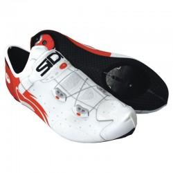 Cubre zapatillas SIDI Wire Color Blanco/Rojo