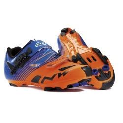 Zapatillas Northwave Hammer Naranja/Azul