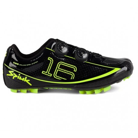 Zapatillas Spiuk 16 MC Mtb Carbono - Negras