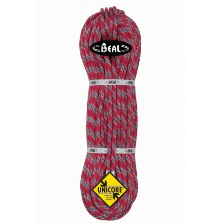Cuerda Beal Tiger 10.0 Unicore Dry Cover roja