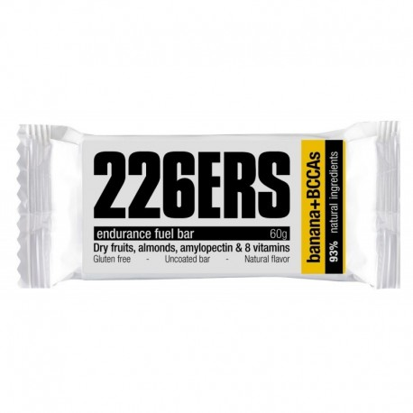 Barrita 226ERS Endurance Fuel Bar Plátano + BCAAs