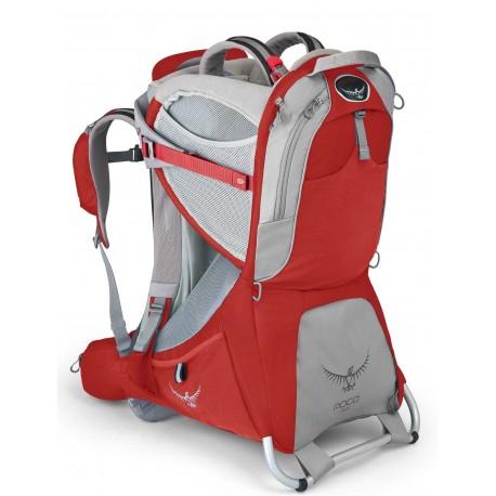 Porta bebe Osprey Poco Plus roja