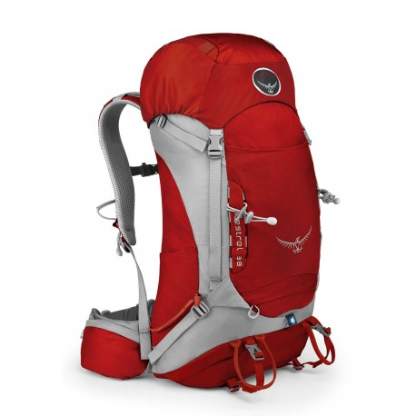 Porta bebe Osprey Kestrel 38 Rojo