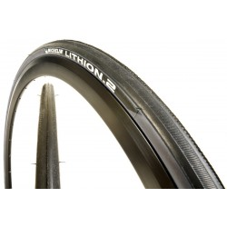 Par de Cubiertas Michelin Lithion 2 700 x 23 gris