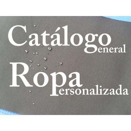 Catálogo general de Ropa Personalizable