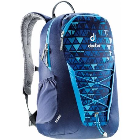 Mochila Deuter Gogo Azul Diseño Triangulos