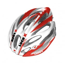 Casco J. Luck Aerlite Rojo/Blanco